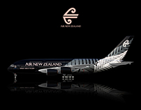 Air New Zealand Airbus A380 Livery concept
