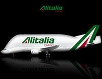 Alitalia Airbus A300-600ST Beluga Livery concept