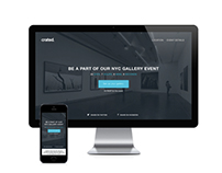 Event Promotion Landing Page Design