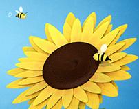 Sunflower, May Calendar Wallpaper