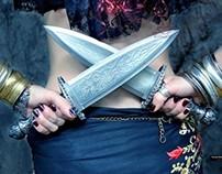 Tribal Enchanted Daggers
