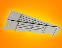 Placa de Aço 3D - Arcelor Mittal