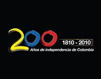 Afiche Bicentenario de independencia de Colombia