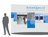 Foster Quan LLP Trade Show Booth