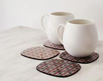 Roly poly doll coasters & trivets