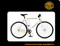HUB BRANDED BICYCLE