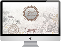 Jane Kersel - Website Design, Branding & Illustration