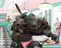 Diner Monster