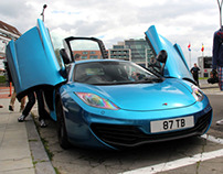 Little photoshoot: The Mclaren 12C from Shmee150