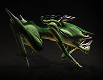 Poison Stalker - 3D Character Design