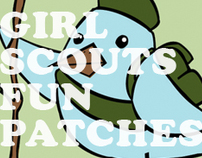 Girl Scouts Fun Patches
