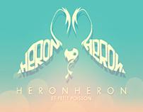 HeronHeron et petit poisson