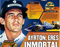 Ayrton, you are immortal