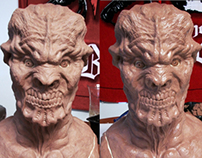 Baby Eater (Latex Mask Sculpt)
