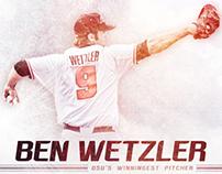 2014 OSU Baseball - Ben Wetzler Infographic