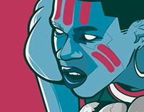 """Giannis """"The Greek Freak"""" Antetokounmpo - Poster Art"""