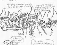 a short story staring Gnomes!