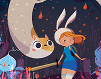 Fionna and Cake - Cover