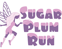 Sugar Plum Run 5k Logo