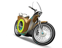 Flux Electric Motorbike