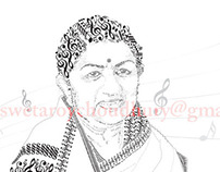 Musical potrait of  Lata Mangeshkar