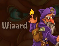 Wizard (char for RPG/Roguelike Dragon's Dungeon)