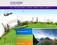 UI/UX Redesign of www.escape.no