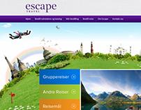 UI/UX Redesign of www.escape.no