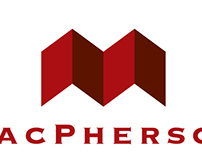 MacPherson Exteriors logo design