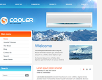 Cooler Air Conditioning Joomla Template