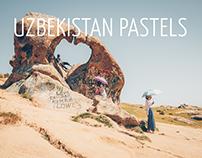 Uzbekistan Pastels - a journey