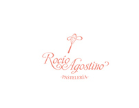 Logo design for homemade bakery Rocío Agostino