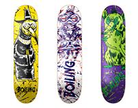 Skateboard Design for Boiling