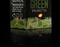 Galaxy Green Tea Box | Package Design