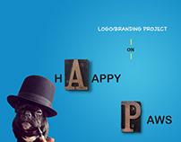 HappyPaws Logo Concept