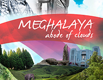 Meghalaya - Abode of Clouds Poster