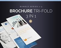 Brochure Bundle Tri-Fold DIN long Series 1-3