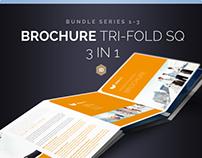 Brochure Bundle Tri-Fold Square Series 1-3