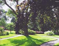 Villa d Árte april 2014  tuin fam Duijnisveld
