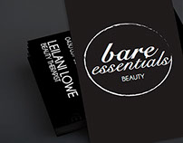 Bare Essentials Beauty Therapy Branding