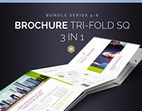 Brochure Bundle Tri-Fold Square Series 4-6