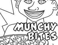Munchy Bites Cereal Box