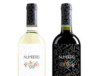 Numbers: Italian Wine Label