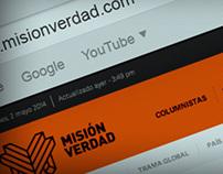 Rediseño web Misión Verdad