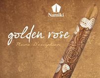 Namiki - Golden Rose - Pilot Pen
