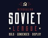 New Font - Soviet League