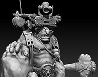 Personal work/Zbrush- Mountain Troll