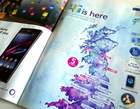 British Isles 4G Map // O2 Magazine