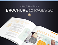 Brochure Square 20 Pages Series 1