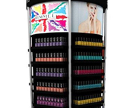 MultiBrand nailpolish Tower - Monoprix